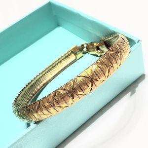 Milor Italy 925 gold plated bracelet